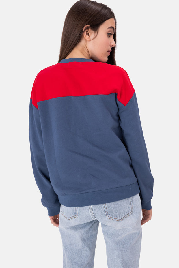 Sandy Color-Block Sweatshirt