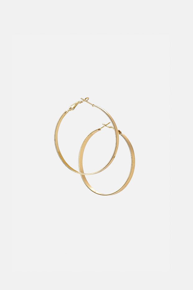Flores Hoop Earrings