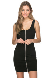 Lisa Dress with Front Zipper