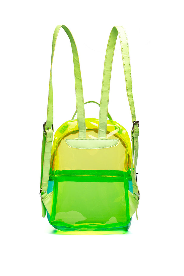 All Neon Transparent Backpack