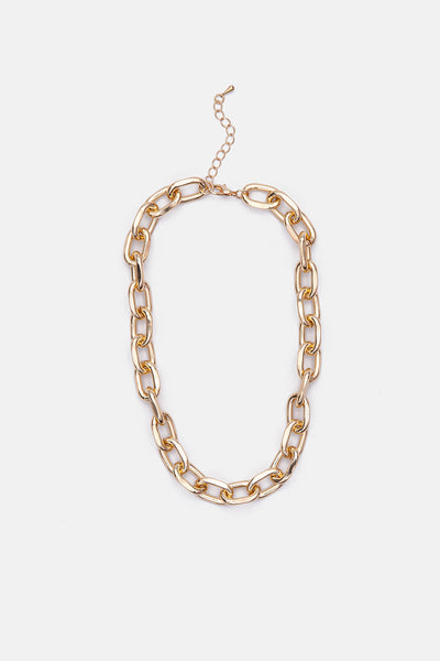 Bling Chunky Chain Link Necklace