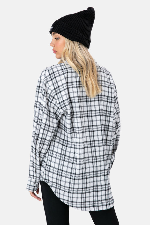 Axel Oversize Plaid Shirt