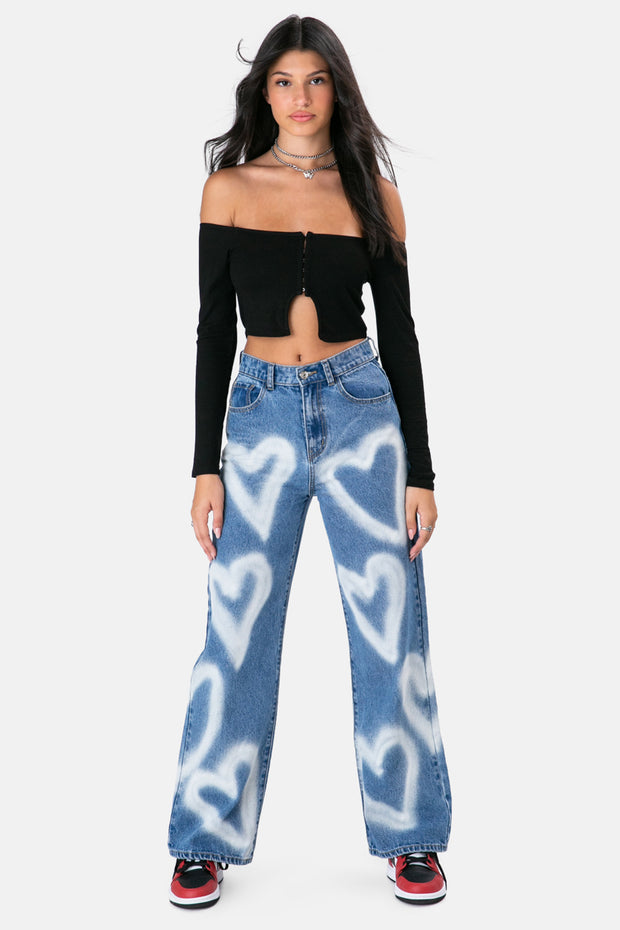 Hearts Jeans | WIDE