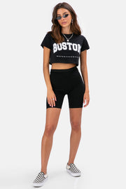 BOSTON Crop Tee
