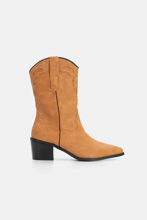 Tennessee Faux Leather Boots