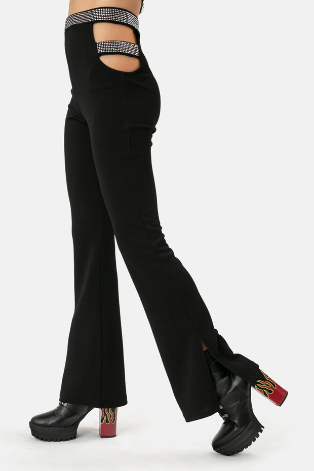 Glam Rock Flare Pants