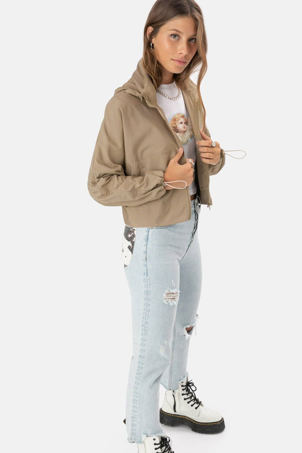 Madison Cropped Hoodie