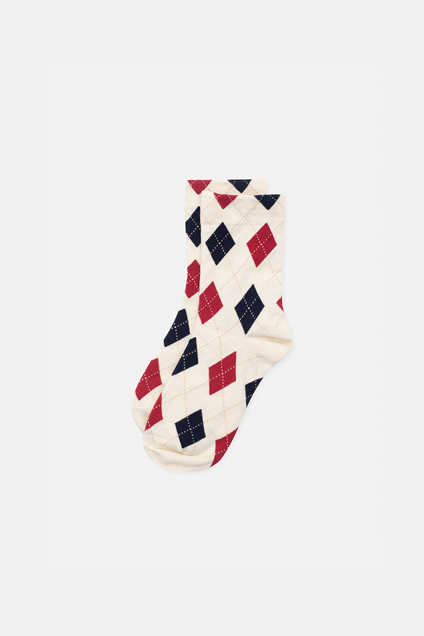 Duke Argyle Socks