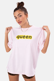 QUEEN Oversize Graphic Tee