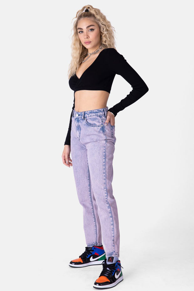 Bitty Ribbed Crop Top