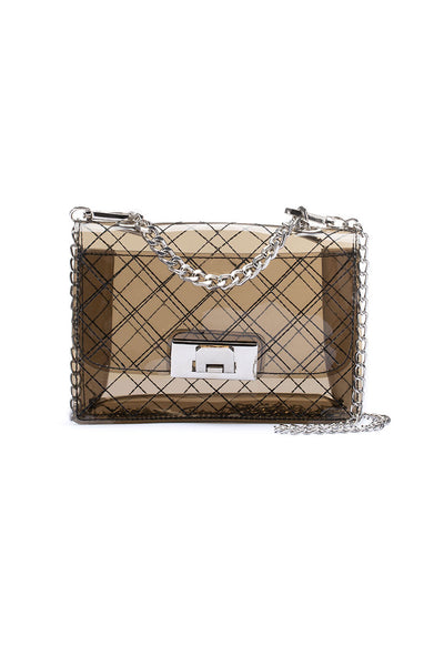 Morgo Clear Shoulder Bag