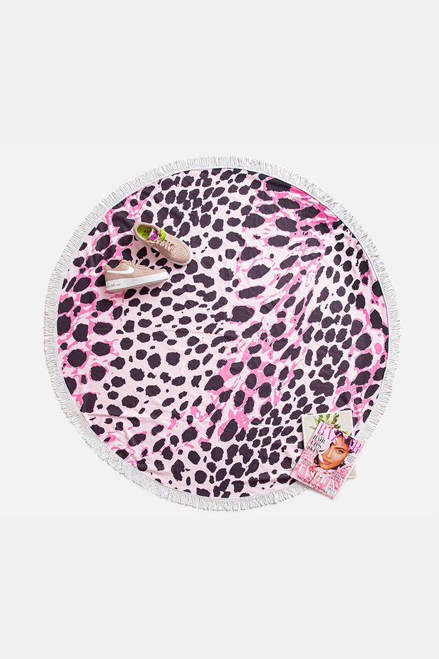 Ibiza Round Beach Towel