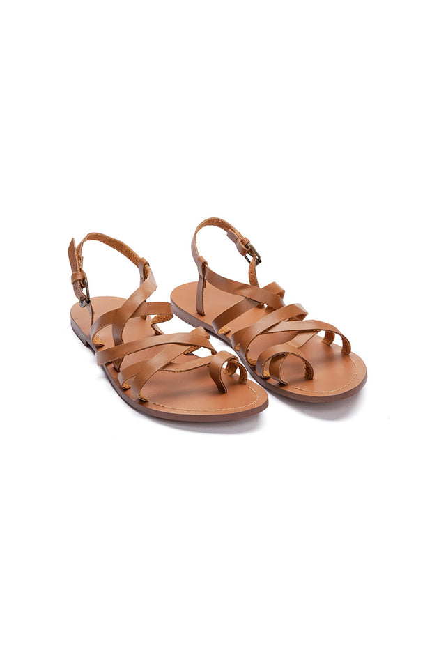 Ortien Faux Leather Sandals