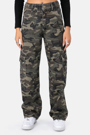Wyoming Camouflage Cargo Pants