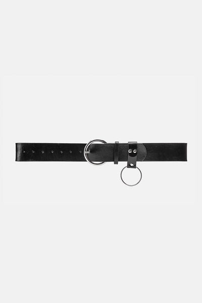 Leon Faux Leather Belt