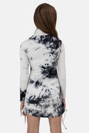 Alexis Tie-Dye Ribbed Dress