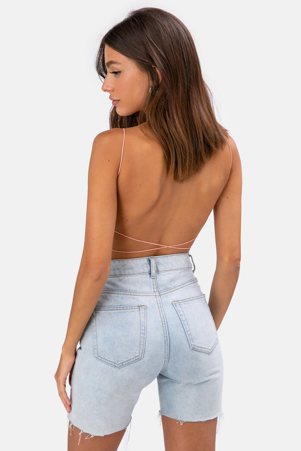 Malo Open-Back Top
