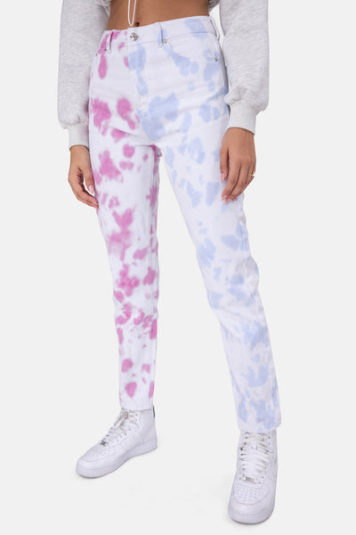 Shade Tie-Dye Jeans | MOM