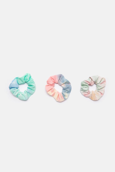 Set of 3 Tie-Dye Scrunchies