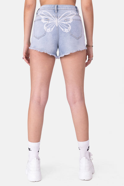 Pillar Denim Shorts