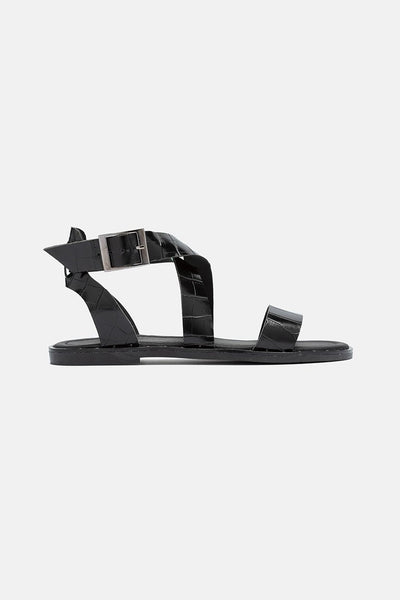 McKayla Faux Leather Sandals