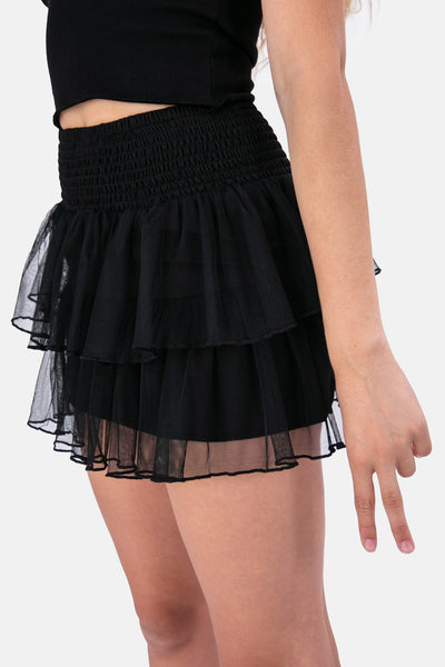 Jenny Tulle Tiered Skirt