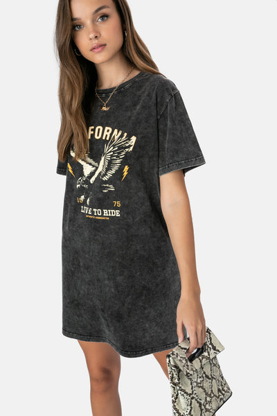California T-Shirt Dress