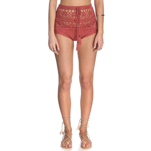 Mikelor Crochet Shorts