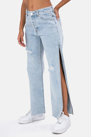 Bernisse Side-Slit Jeans