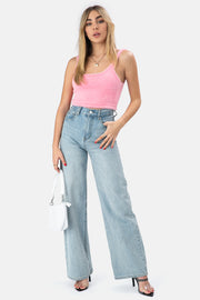 Dash Fuzzy Crop Top
