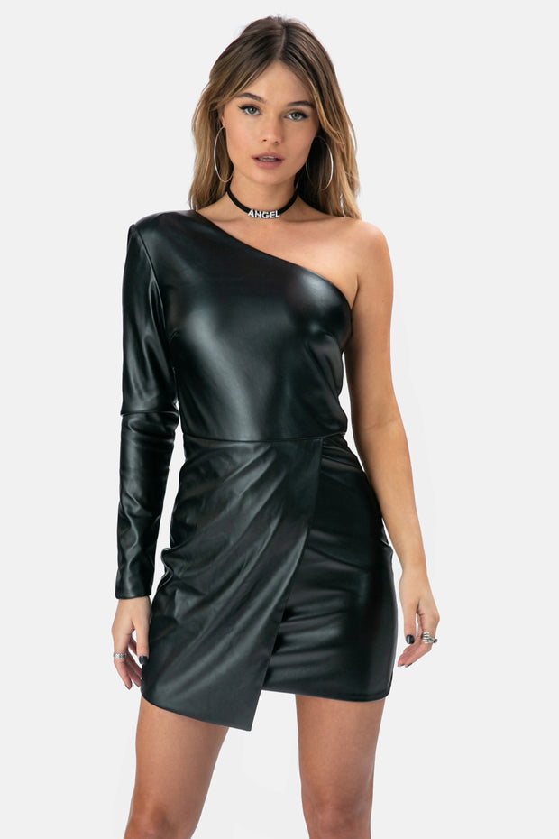 Mercury One-Shoulder Dress