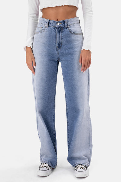 Brooklyn Semi Washed Jeans | WIDE