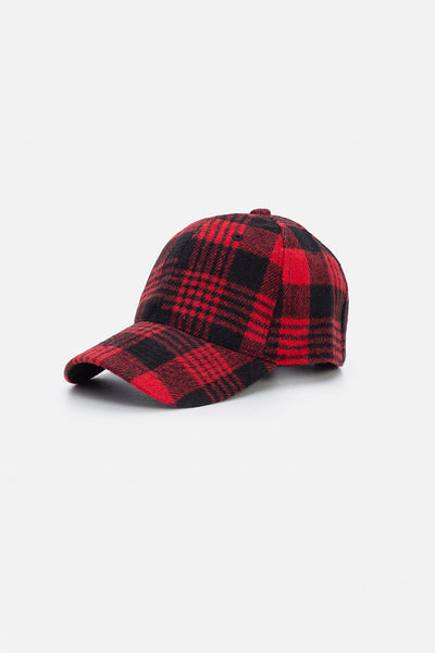 Cozy Flannel Baseball Cap