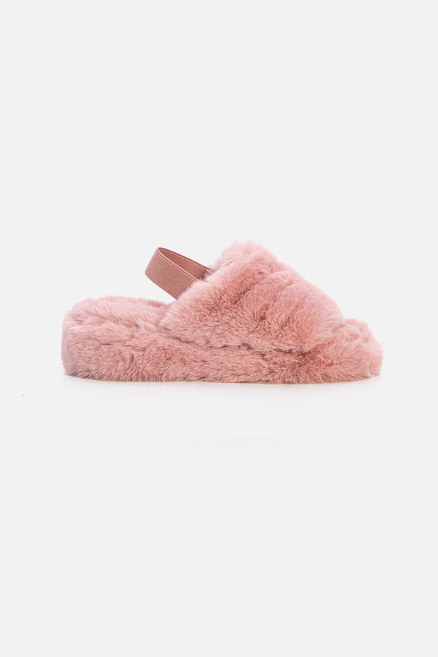 Diane Faux Fur Sliders
