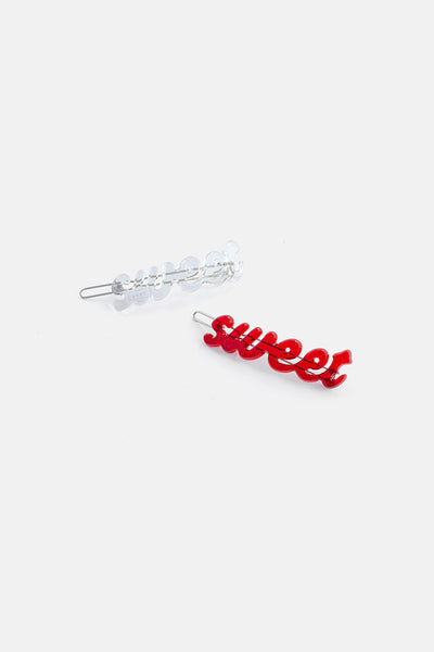 SWEET 2-Pack Hair Clips