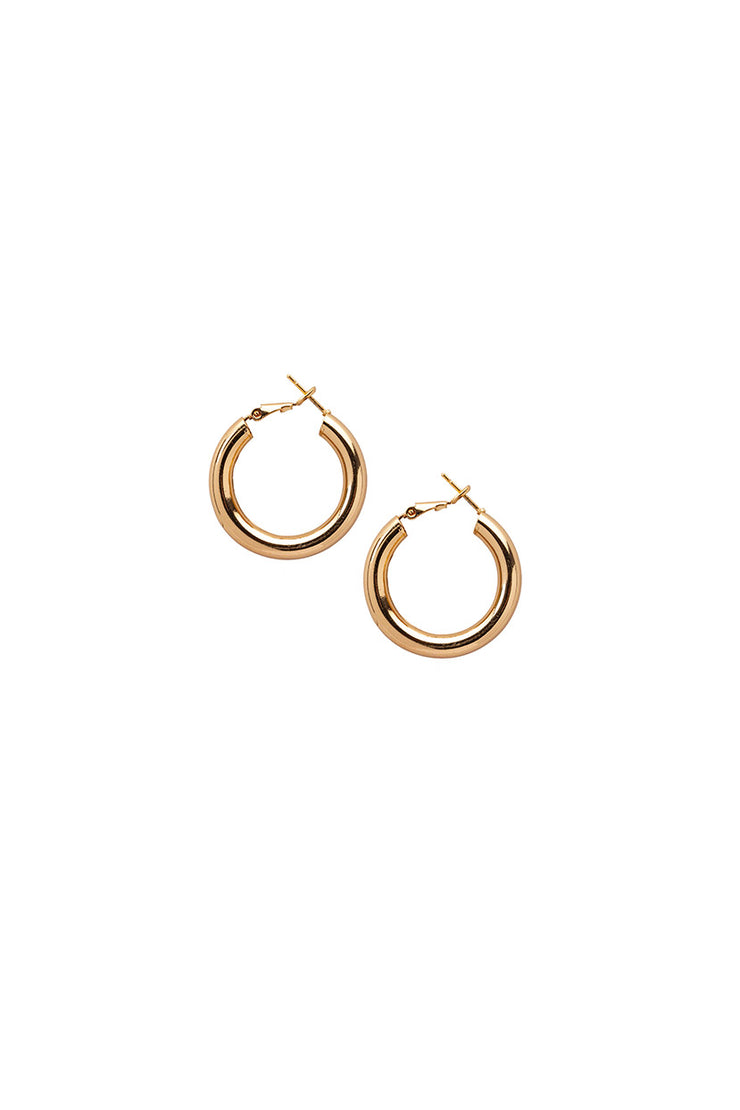 Round Magic Hoop Earrings