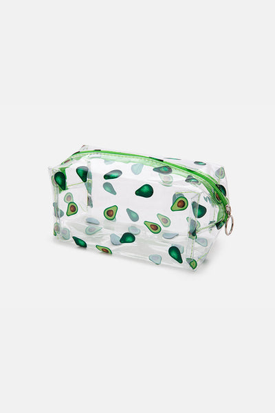Avocado Clear Pencil Case