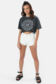 Zodiac Cropped T-Shirt