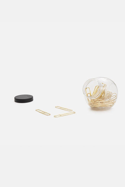 Heavy-Metal Paper Clip Set
