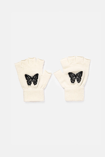 Butterflies Fingerless Gloves