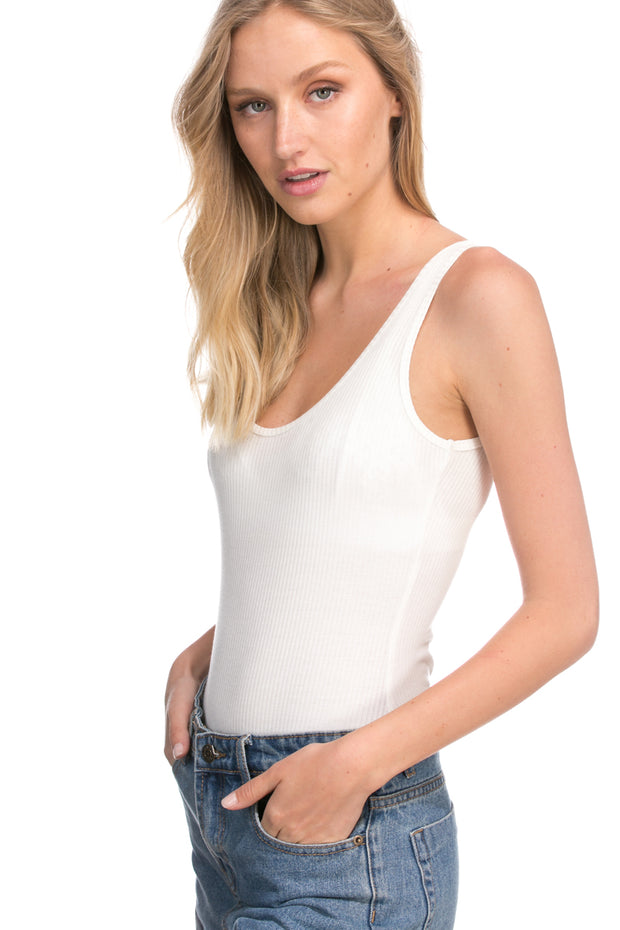 Leonor Ribbed Bodysuit