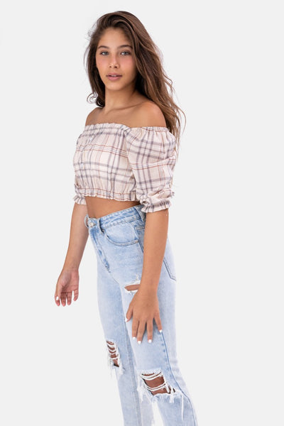 Clare Off-Shoulder Top
