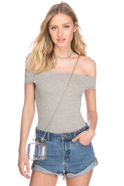 Devin Off Shoulder Bodysuit