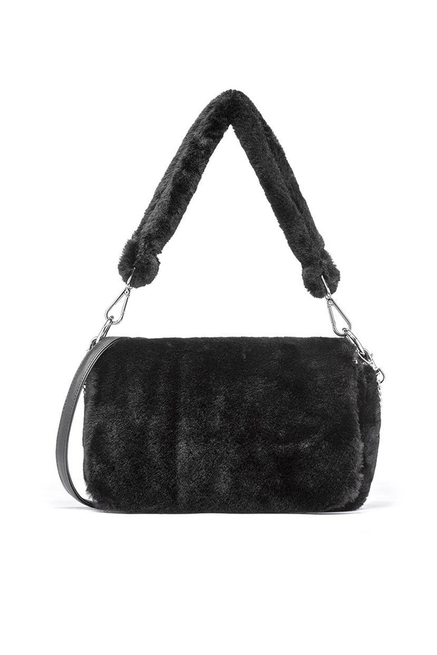 Clark Furry Bag with Chain