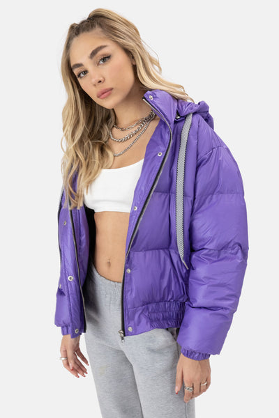 Swag Detachable Hood Puffer Jacket