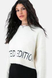 LIMITED Fuzzy Sweater