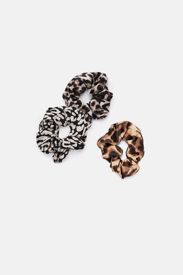 Wild Touch 3 Pack Scrunchies