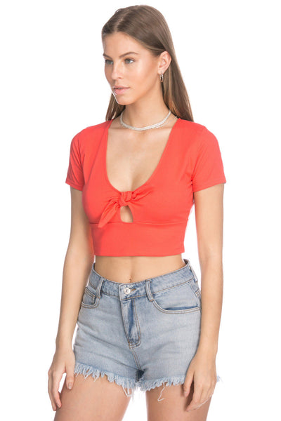 Lindo Front Knot Top
