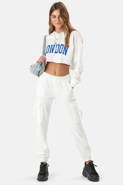 LONDON Cargo Sweatpants