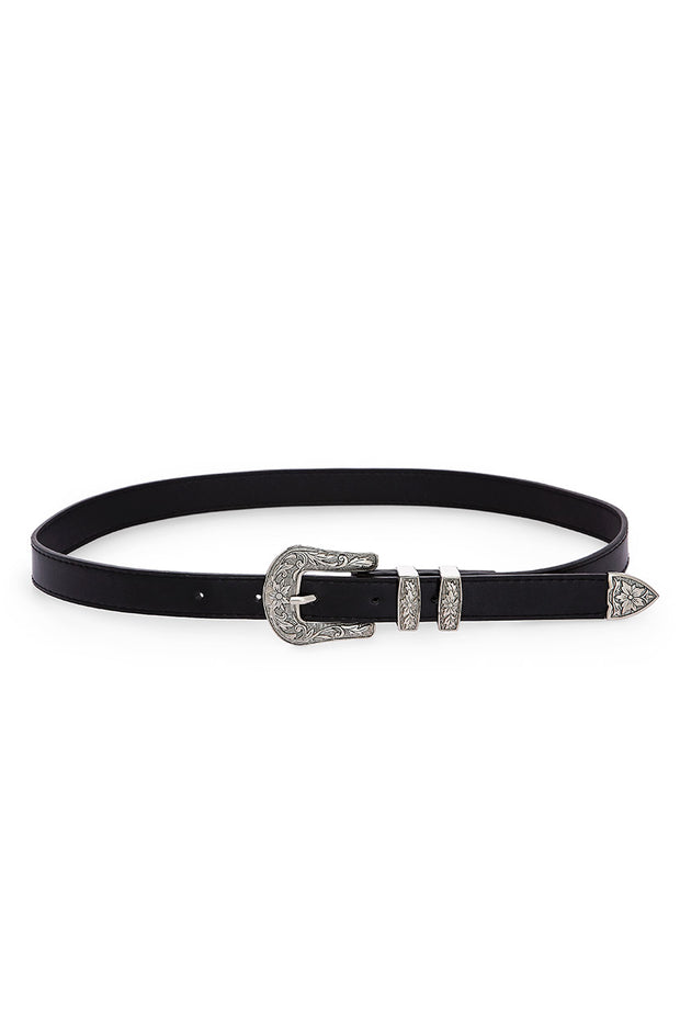Joplin Faux Leather Belt